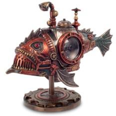 Статуэтка в стиле Стимпанк «Рыба»