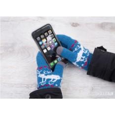 Перчатки для сенсорных экранов «Северные олени»