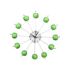 Настенные часы Зеленые яблоки Pomidoro