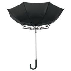 Черный зонт-трость «Ветер»