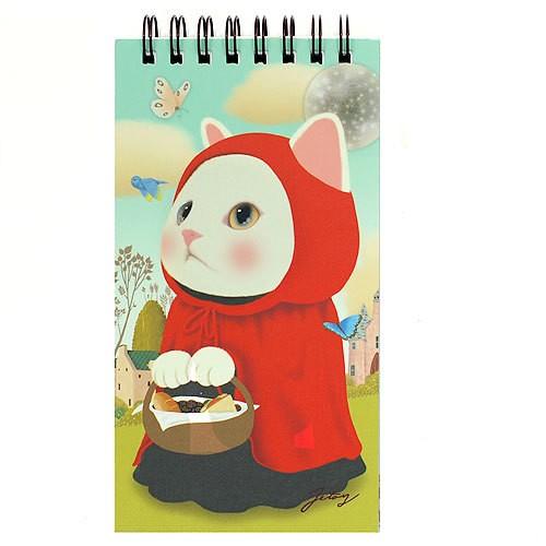 Блокнот на пружинке Choo Choo Сat  - Red Hood