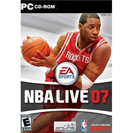 Компьютерная игра «NBA Live 07»