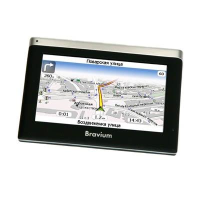 GPS-навигатор Bravium