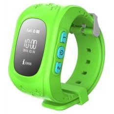 Зеленые детские часы Smart Baby Watch Q50