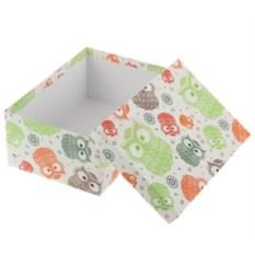 Подарочная коробка Совы ажурные