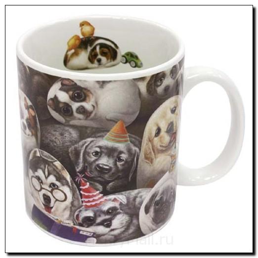 Кружка с собачками «Собачки Генри»