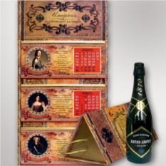 Подарочный набор с шампанским Империал