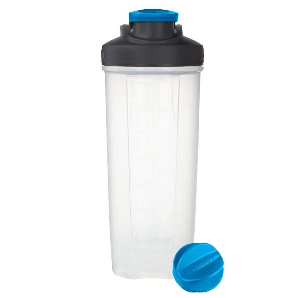 Фитнес-бутылка Shake & Go™ (цвет — голубой)