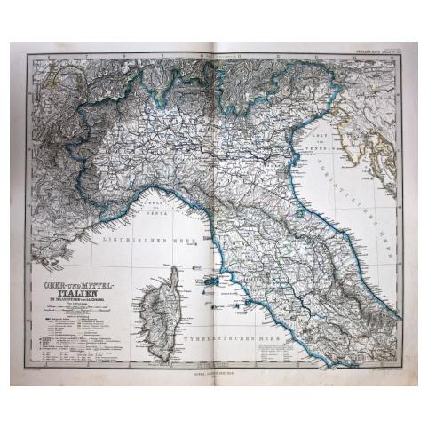 Карта «Север Италии»