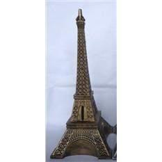 Копилка Эйфелева башня (золотая)