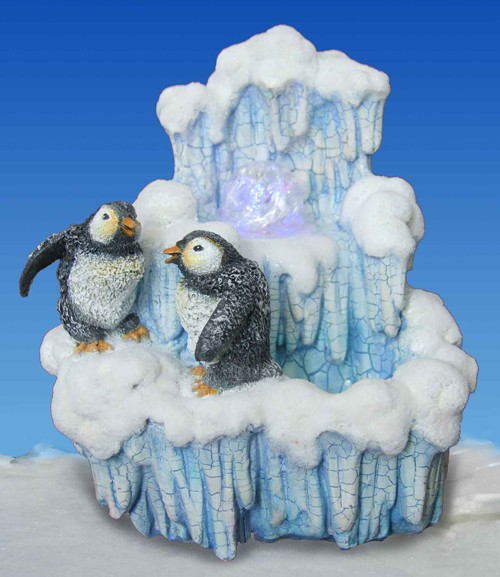 Фонтан Пингвинята у льдины