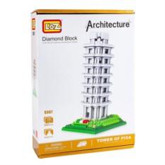 Конструктор loz Пизанская башня. серия архитектура