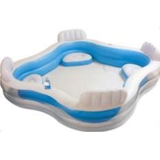 Детский бассейн с сидениями Intex