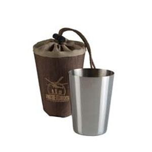 Набор стаканов из нержавеющей стали в чехле