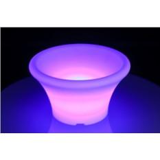 Светодиодная ваза Round Pot (Led) Alive System