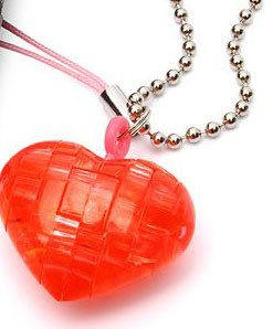 3D мини-головоломка Сердце