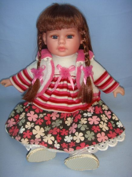 Озвученная кукла Дуня