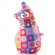Подушка-игрушка антистресс Кот позитивчик