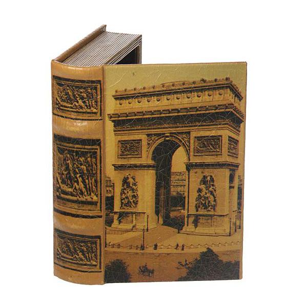 Шкатулка-фолиант «Триумфальная арка»