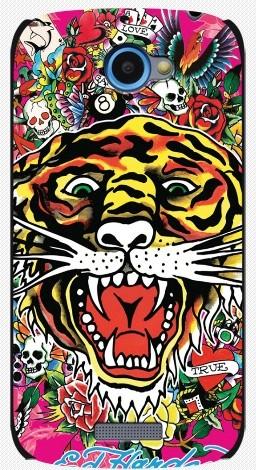 Задняя накладка для HTC ONE S, тигр