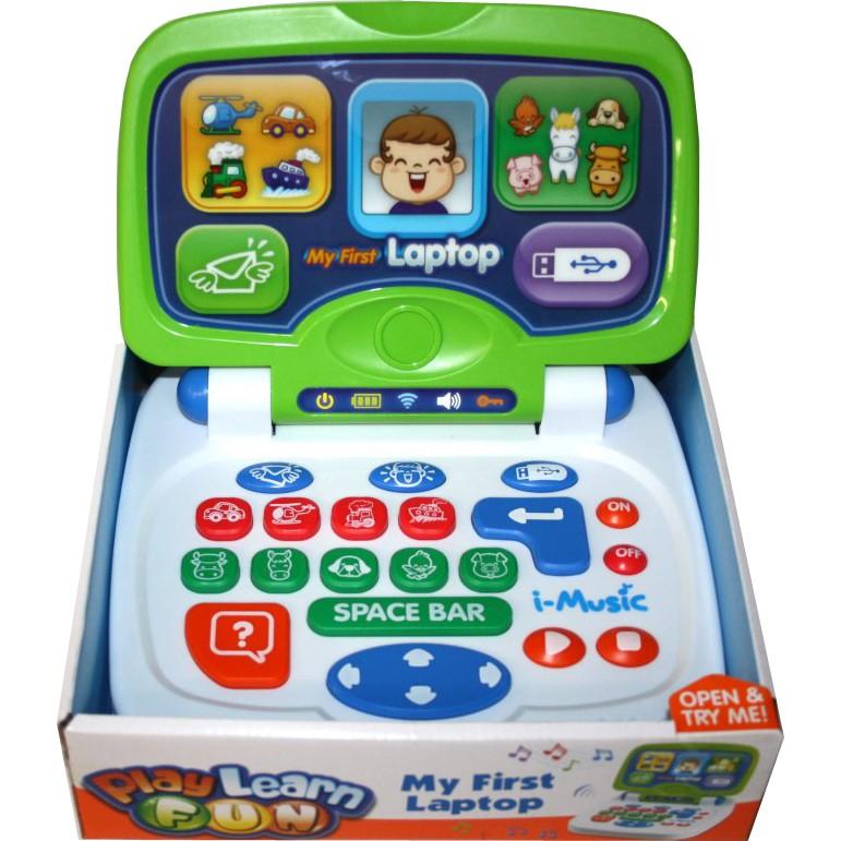 Развивающая игрушка Мой первый ноутбук, Keenway