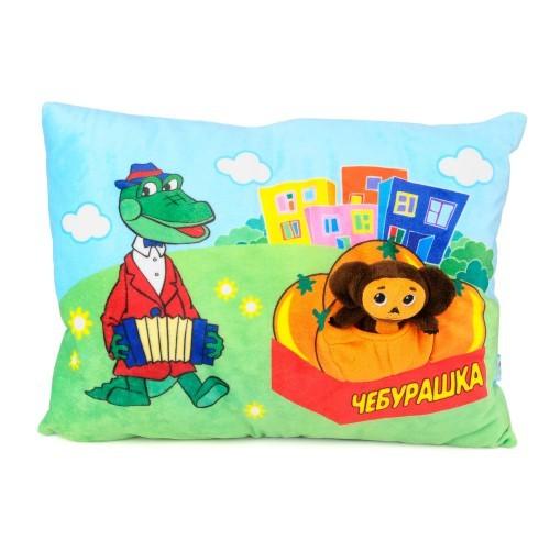Подушка Крокодил Гена и Чебурашка-игрушка