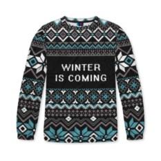 Женский свитшот 3D Winter is coming