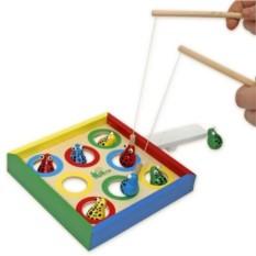 Деревянная игрушка Рыбалка 2в1