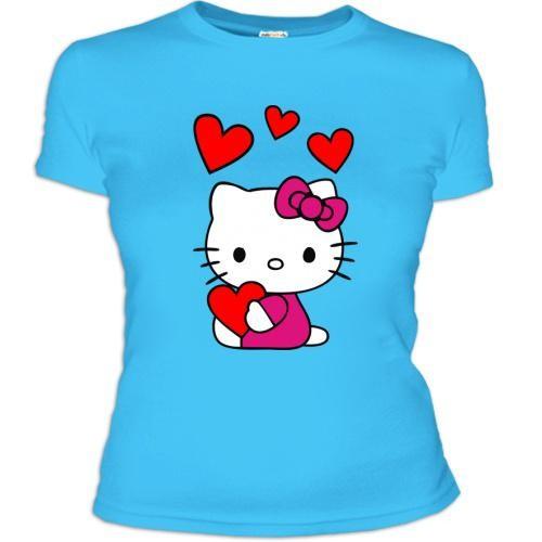 Женская футболка Love Kitty