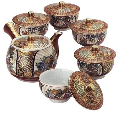 Чайный набор «Живописная компания»