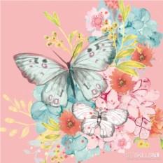 Бумажные салфетки Louise butterfly