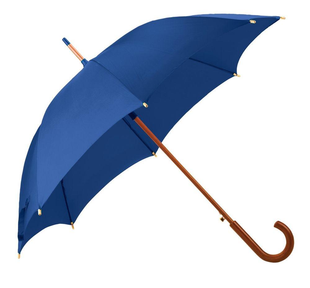 Ярко-синий зонт-трость Unit Standard