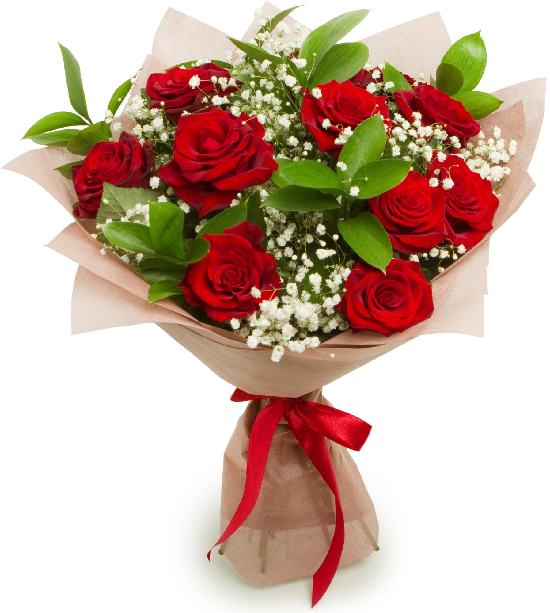 Букетики из роз