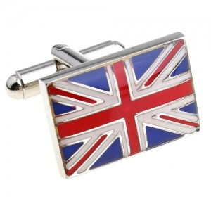 Запонки Union Jack