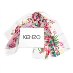 Шелковый палантин для женщины Kenzo Homme