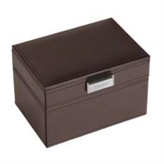 Шкатулка для драгоценностей LC Designs коричневого цвета