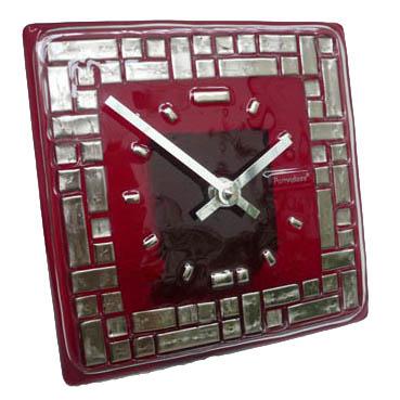Часы «Платиновый лабиринт»  150x150 мм