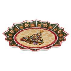 Круглое блюдо Christmas collection