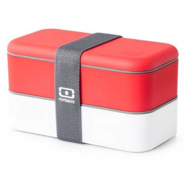 Ланч-бокс MB Original, красный/белый