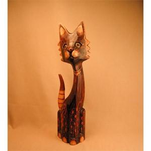 Кошка декор сетчатый 40 см