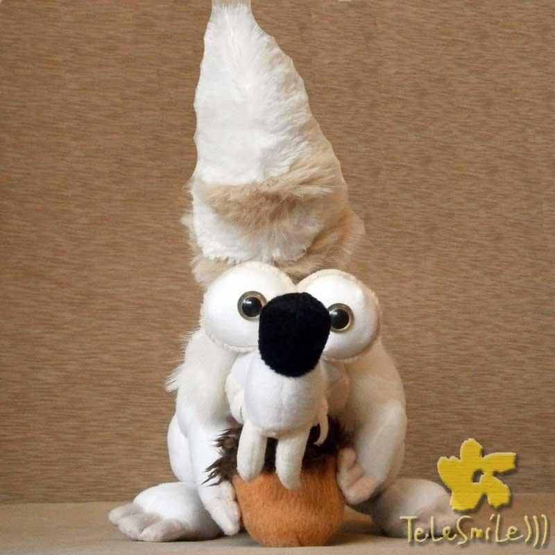 Говорящая игрушка Белка из Ледникового периода (белая)