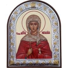 Икона в серебре Наталия Никомидийская Святая мученица
