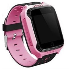 Розовые детские часы с GPS Smart Baby Watch G100