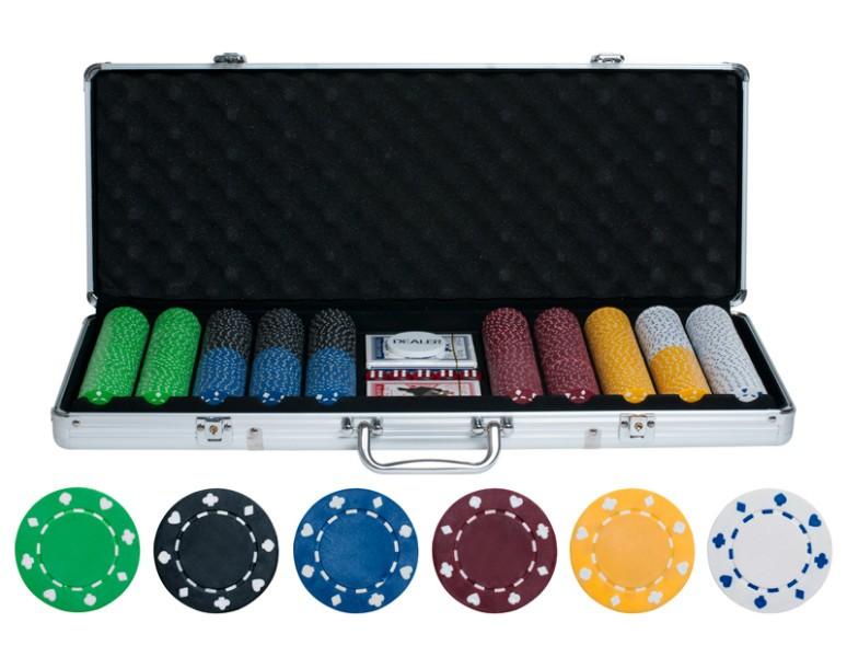 Набор для покера на 500 фишек без номинала Lite