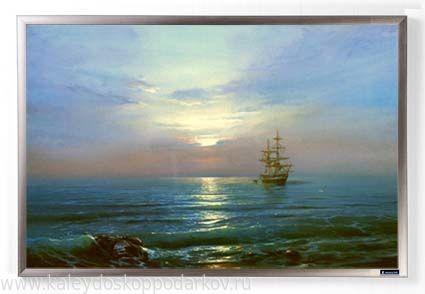 Картина из песка Морской пейзаж