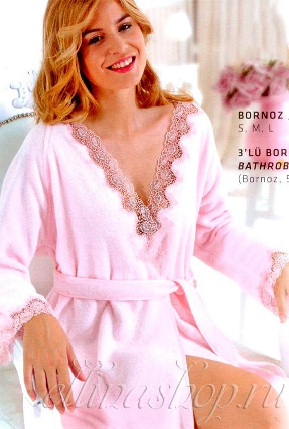 Женский халат Angelic