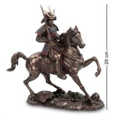 Статуэтка Самурай на коне , высота 29 см