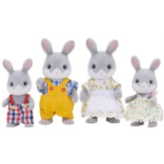 Игровой набор Sylvanian Families Семья серых кроликов
