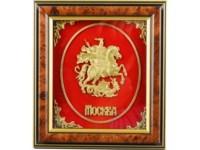 Настольное панно «Герб Москвы»