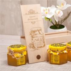 Мини-набор мёда Для хорошего человека